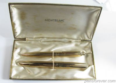 Set Masterpiece, fountain pen (744) and mechanical Pix pencil (772)