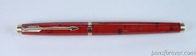 PARKER 75 laca red quartz  - BROAD