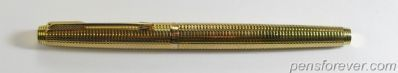 PARKER  75 DIAMANTE GOLD FILLED