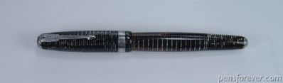 PARKER Major vacumatic cinza dupla joia