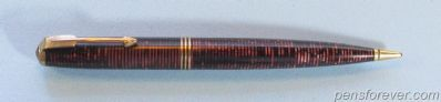 PARKER Mechanical pencil Oversize vacumatic - BURGUNDY - AMERICAN