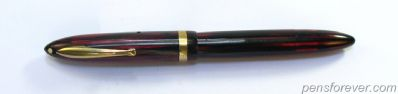SHEAFFER Lady LIFETIME - VERMELHA - alavanca