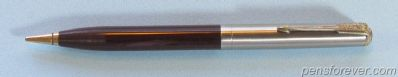 MECHANICAL PENCIL PARKER 51 VACUMATIC IN BROWN - STEEL CAP