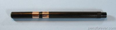 ONOTO SELF FILLING PEN IN BHR WITH GOLD BANDS