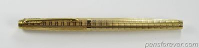 PARKER  75 ECOSSAIS GOLD FILLED - MINT