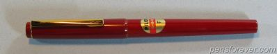 PILOT JAPAN RED WITH CONV EX CLIP - F - MINT