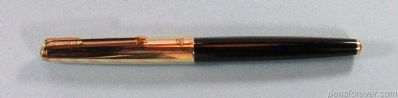 PARKER 61 PRETA tampa Rainbow OURO/OURO - FIRST EDITION