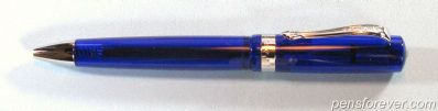 KAWECO STUDENT BALL PEN - TRANSLUSCENT BLUE - MINT IN BOX