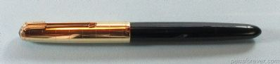 PARKER 51 VACUMATIC IN BLUE - HERITAGE CAP - 14K ARROW CLIP