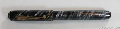 SAFFORD PEN (PARKER) FIFTH AVENUE CINZA TWISTED -  - CLIP BOLA