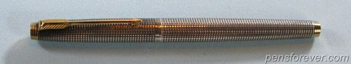 PARKER 75 STERLING CISELE - FIRST EDITION ( METAL THREADS ) -  VERY RARE